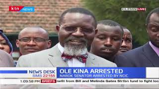 Ole Kina\'s lawyer, Wajakoyo wants state release his client with immediate effect