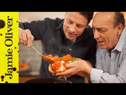 Gennaro's Italian Meatball Sub | ft. Jamie Oliver