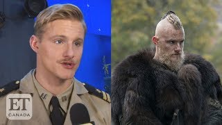 Alexander Ludwig On Life After 'Vikings', New Film 'Midway'