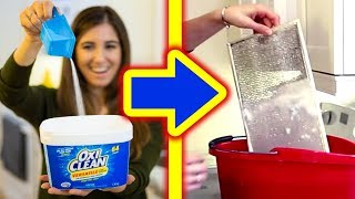 15 Brilliant Uses For OxiClean! 🙌 Cleaning Tips & DIY Recipes!