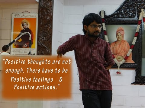 Positive Thinking | Raghu | RKMath 2015