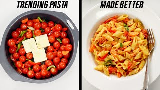 TRENDING CHEESE & TOMATO PASTA RECIPE - CookingShooking