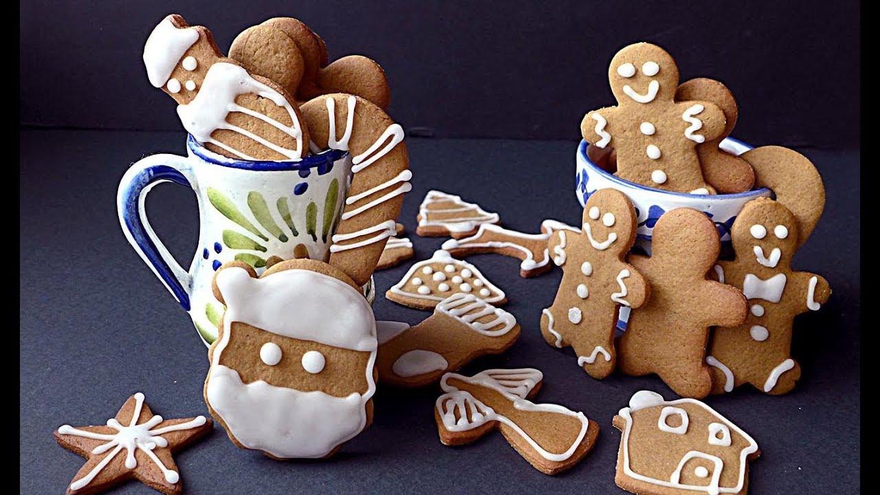 Como hacer Galletas de jengibre - Gingerbread Man - Recetas Explosivas