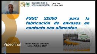 FSSC 22000 para la fabricación de envases en contacto con alimentos