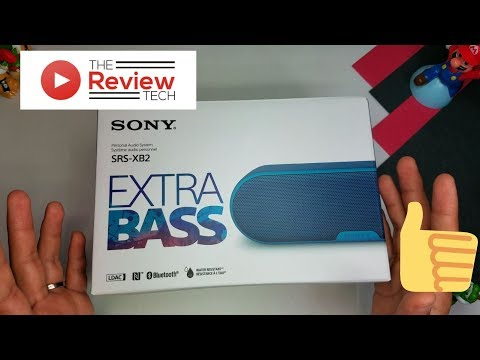Sony Portable Bluetooth SRS - XB2 Unboxing