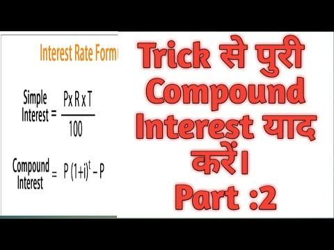 Compound Interest  Trick Part 2