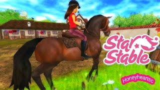 Star Stable Horses Game Let's Play with Honeyheartsc Part 1 Video Series - Create Rider