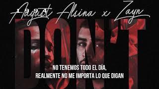 August Alsina - Don't Matter (Zayn Remix) (Subtitulado En Español)