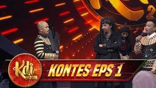 ALAAAMAAK!! Ngeri BGT Aksi Master Limbad, Tangan Rafi Nyaris Kena - Kontes KDI Eps 1 (6/8)