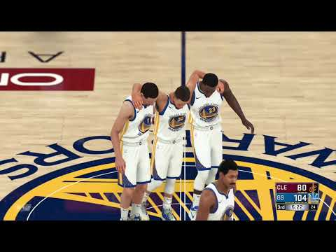 Stephen curry gets injured:NBA 2K18