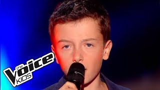 Un jour au mauvais endroit - Calogero | Lisandru | The Voice Kids 2015 | Blind Audition