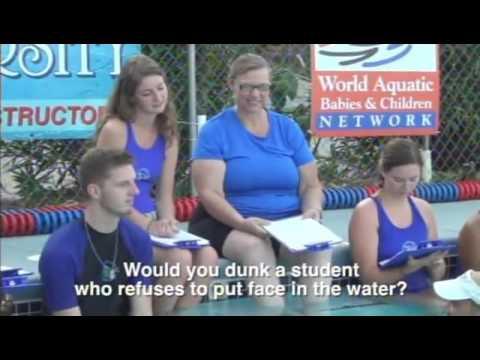 Swim Instructor Training Highlights - YouTube