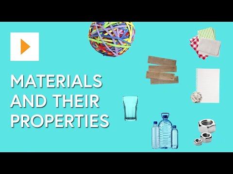 , title : 'Materials And Their Properties