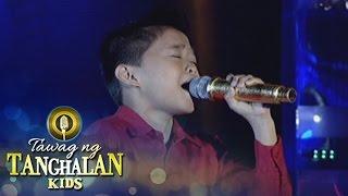 Tawag ng Tanghalan Kids: Mackie Empuerto | Patuloy Ang Pangarap