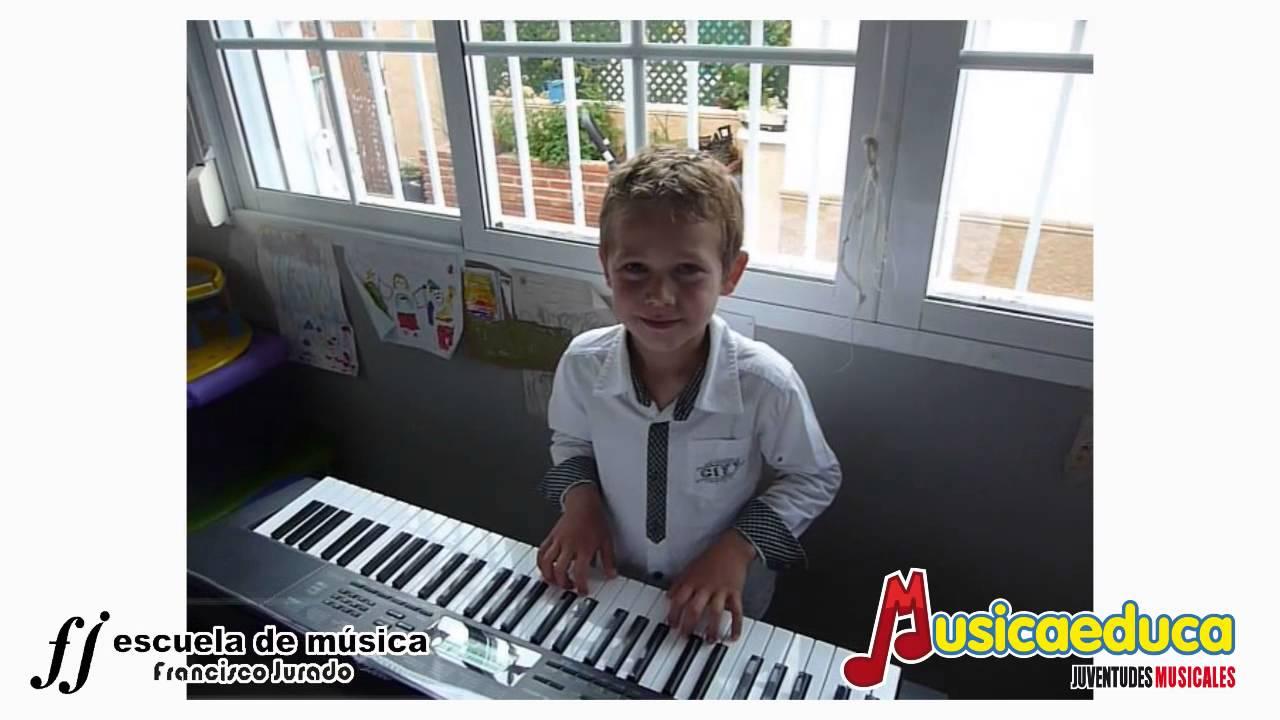 María tenía un corderito - Mi Teclado 1 - Escuela de Música Francisco Jurado