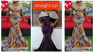 How To Draft a SIX PIECES GOWN Style ||Easiest Method