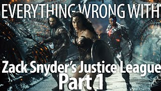 Everything Wrong With Zack Snyder's Justice League Part 1 In 22 Minutes Or Less