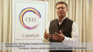 The CEEI Persuasive Communication Expert Saurav Dass, Sembcorp Industries