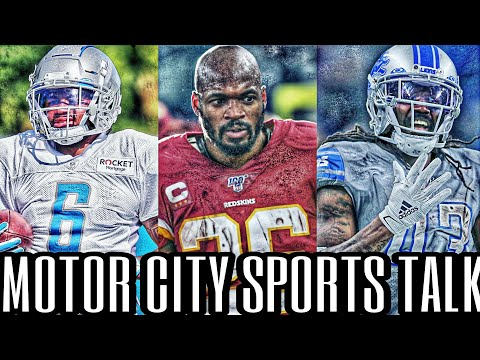 Detroit Lions Send Bo Scarbrough to IR | D'Andre Swift Has a Knee Injury | Adrian Peterson Touches