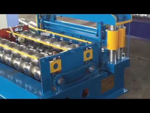 Horizontal Crimping Roll Forming Machine