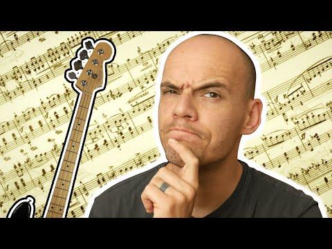 Bass Noten lesen OHNE NOTEN zu können?! – E-Bass Noten lernen für Anfänger