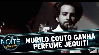 The Noite (15/12/14) - Murilo Couto lança sua própria fragrância Jequiti