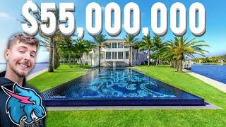INSIDE MRBEAST'S NEW $55,000,000 MANSION!