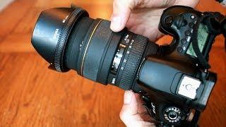 Sigma 24-70mm f/2.8 EX DG Macro lens review with samples (Full-frame & APS-C)