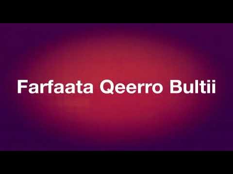 Farfanna Afaan Oromoo Waliti fuufaa I 2018 - смотреть онлайн
