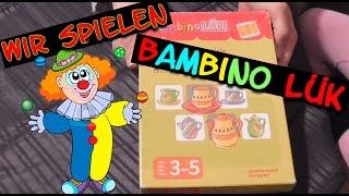 Wir Spielen Bambino Lük I Konzentrationsspiele für Kinder I #HD #Lernspiel
