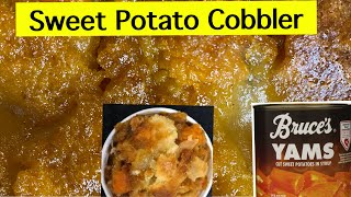 How to make Sweet Potato Cobbler @Collard Valley Cooks @In the kitchen with Gina Young