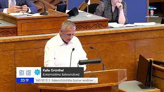 Kalle Grünthal: Me kaupleme palja õhuga ja selle kauplemise pealt saab keegi kuskil riikides tulu