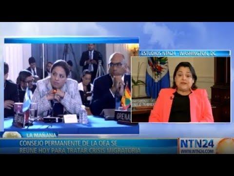 OEA abordará crisis migratoria de Venezuela este miércoles