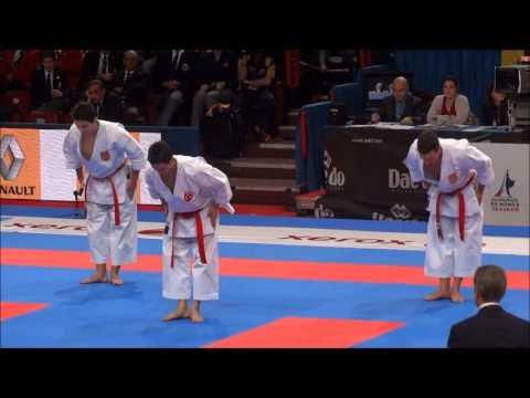 Team Kata + Bunkai KANKU SHO by TURKEY - 21st WKF World Karate Championships