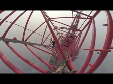 Escalando la Torre de Shanghai - 650 metros
