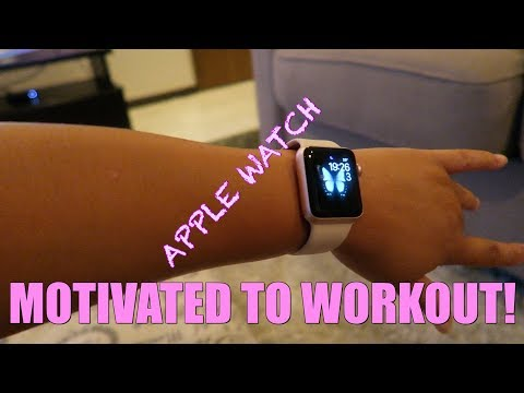 MOTIVATED TO WORKOUT! NEW APPLE WATCH! DAILY VLOG JULY,3,2017