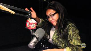 Angela simmons The Angie Martinez Show  9-27-11