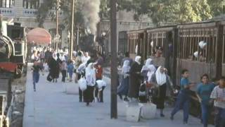 preview picture of video 'Hejaz Bahn / Train - Damascus / Amman'