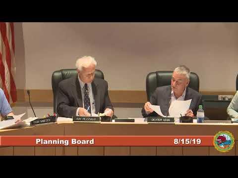 Planning Board 8.15.19