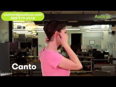 Canto Hearing Aid Demo Video