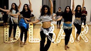 """DILBAR"" DANCE    Neha, Dhvani & Ikka | @JBELLYBURN FUSION CHOREO @aatmaperformingarts"