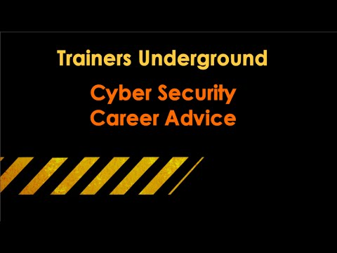 Career Advice in Cyber Security