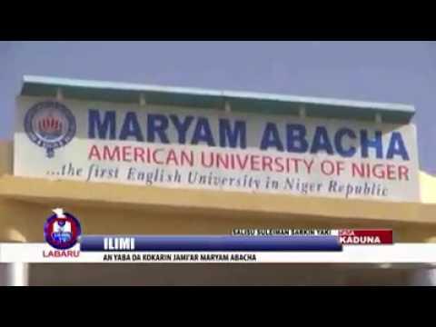 Maryam Abacha American University of Niger accreditation and laying stone foundation ceremony