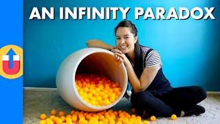 An Infinity Paradox - How Many Balls Are In The Vase?