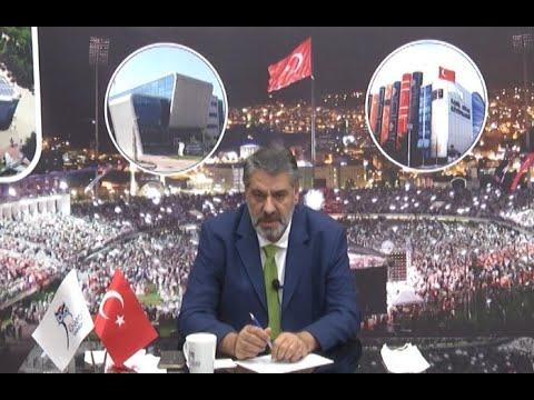 Rektör Polat, BRTV'de canlı yayına katıldı.
