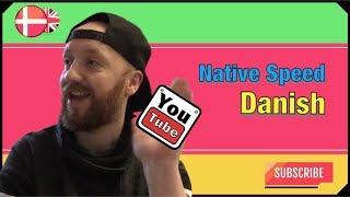 A Taste of Danish Pronunciation - How to understand native speed Danish 1