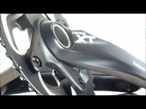 Shimano M785 XT 10 Speed Double Chainset