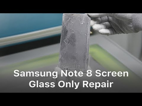 New Tech - Samsung Note 8 Broken Screen Glass Repair