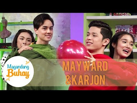 MayWard vs. KarJon: Not My Arms Challenge | Magandang Buhay