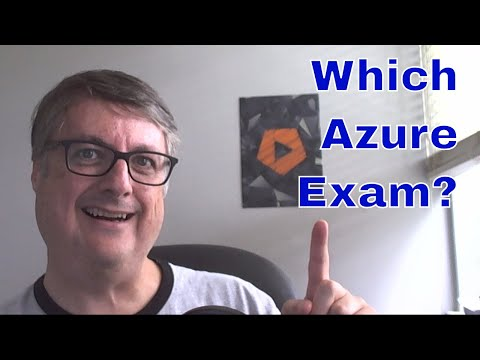 Which Azure Certification | 70-532, 70-533 or 70-535 - YouTube